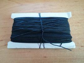 Kalapgumi 1 mm vastag - fekete (kalap gumi)