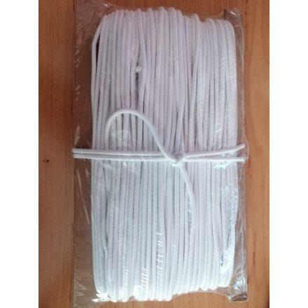 Kalapgumi 3 mm -es fehér