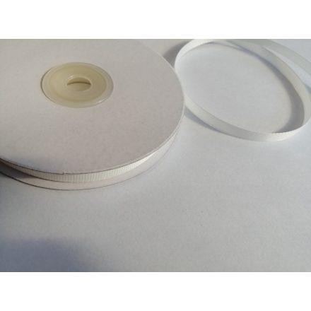 Ripsz szalag 6 mm széles - ekrü