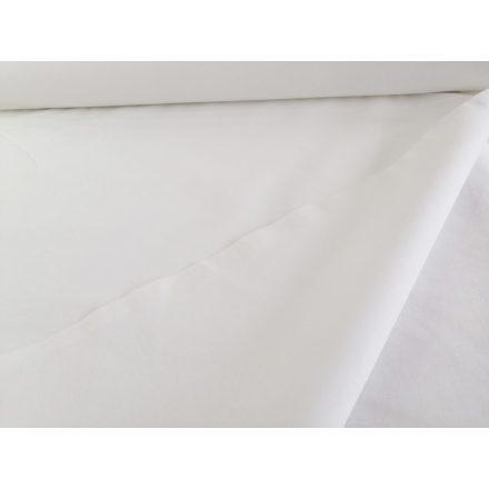 Pamutvászon fehér 160 cm széles 120g