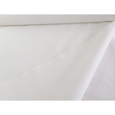 Pamutvászon fehér színű 220 cm széles