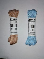 Lurex szálas cipőfűzők 6 mm-es 100 cm hosszú