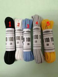 Lapos színes cipőfűzők 100 cm hosszúak