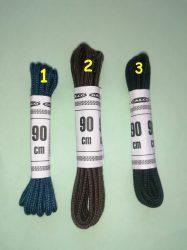 90 cm hosszú többféle színű 2 mm átmérőjű cipőfűző