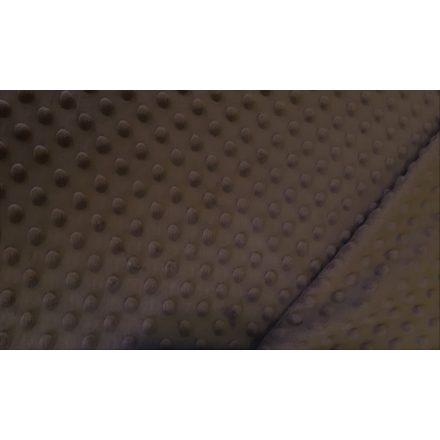 Minky textil - méteráru 160 cm széles - csoki barna - 350 g-os