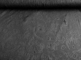 Menta zöld alapon fehér csillag mintás textil