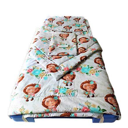 Mályva színű madár - mintás tetra pelenka méterárú