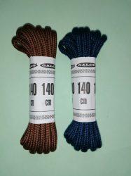 3 mm-es gömbölyű 140 cm hosszú cipőfűzők