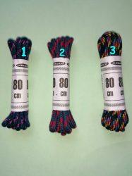 Cipőfűző 2 mm átmérőjű színes 80 cm hosszú