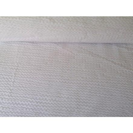 Szürke - rózsaszín virágos farmer jellegű textil - 150 cm