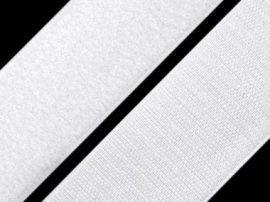 Öntapadós tépőzár szalag fehér - 16 mm széles