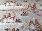 Manós textília 100% pamutból karácsonyi mintával.