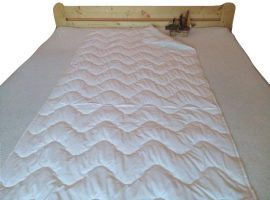 Matracvédő 90x200 cm microfiber borítással.