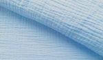 Elasztikus pamutvászon fehér alapon fekete mintás - 120 cm