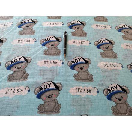 Tetra - textil pelenka méteráru - boy koala