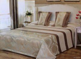 Arany - pezsgőszínű ágytakaró szett 200x220