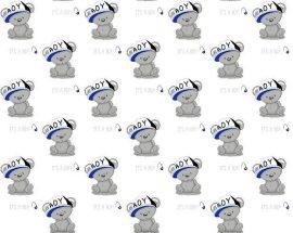 Ezüstszürke - szürke virágos ágytakaró 220x240 cm
