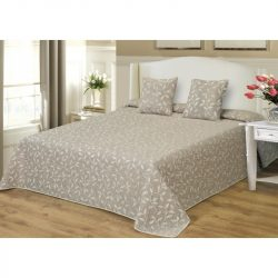 Ágytakaró szett drapp mintával 200x220