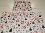 2 részes gyermek ágynemű garnitúra 90x130 cm pasztell bagoly mintás