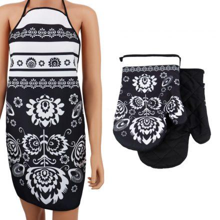 60x120 cm méretű fehér - ezüst karácsonyi terítő.