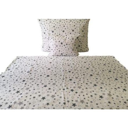 Pamut ágyneműhuzat garnitúra 140x200 cm 3 részes - piros kockás