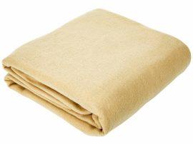 Pléd, takaró 150x200 cm bézs színben.