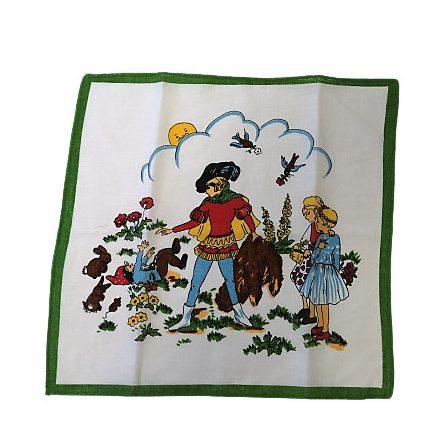 Női zsebkendő - ajándékdobozban