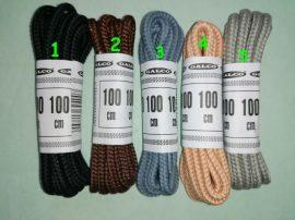 100 cm hosszú cipőfűzők többféle színben 3 mm