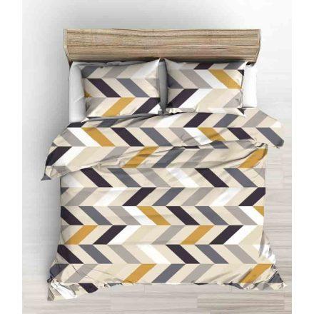Zöld - fehér - fekete foci mintás ágynemű huzat szett 140x200 cm