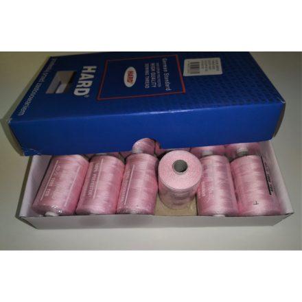 Poliészter cérna 40/2 1000 yard -rózsaszín
