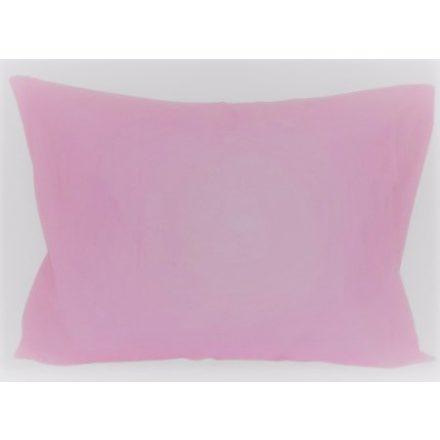Rózsaszín 100% pamut kispárna huzat