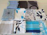 Patchwork alapanyag - textil csíkok csomagban