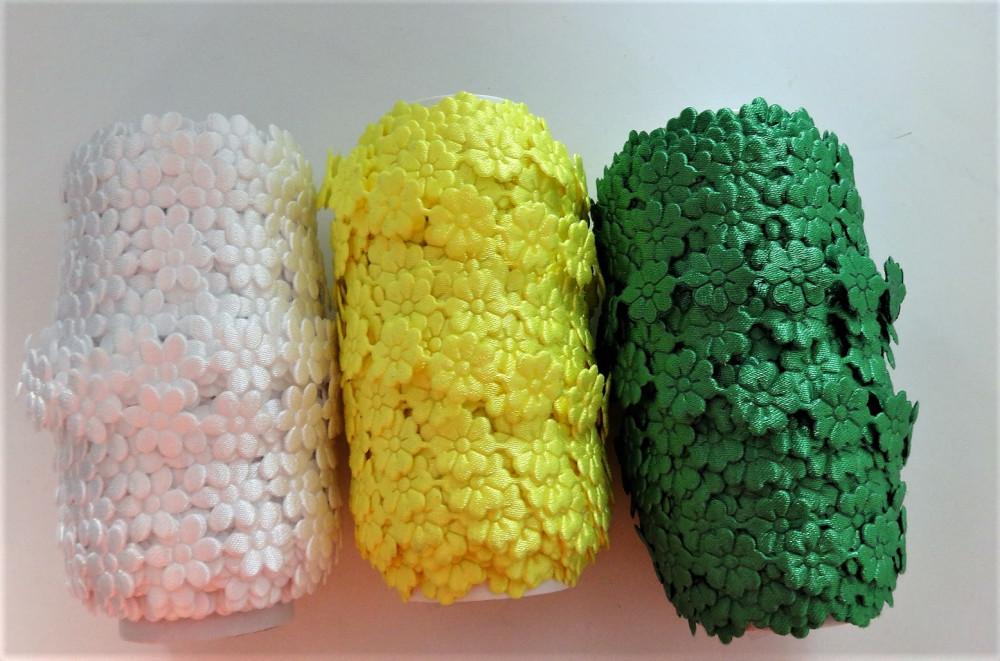 Virág szalag többféle - 13 mm